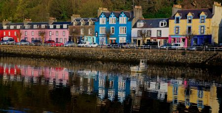 Tobermory colored homes.