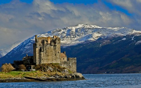 The most photographed castle in Scotland.