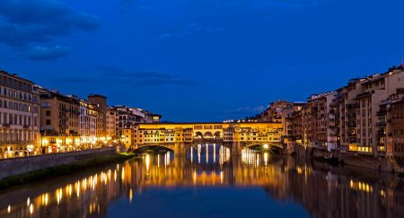_E7A6555 Ponte Vecchio Blue Hour web ready