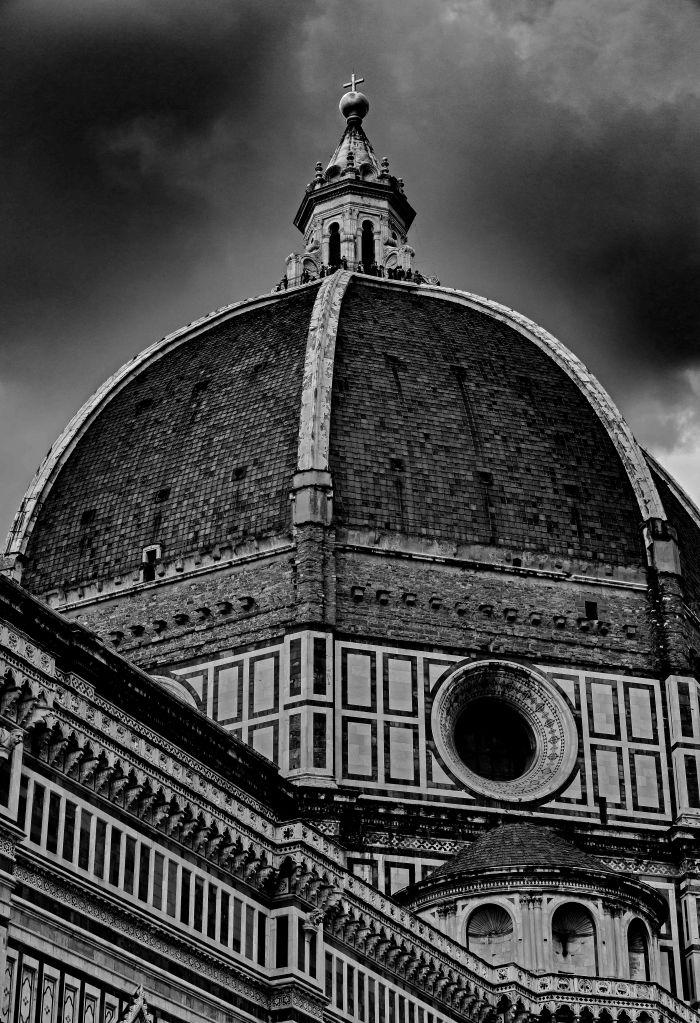 _E7A6603 Florence Cathedral Dome B&W web ready